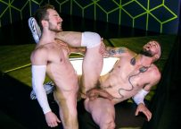 """Buck Richards and Eddie West fuck each other in """"Gaymers"""" part 4 from Raging Stallion"""