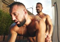 Argentinian muscle hunk Cristian Sam fucks Jake Cook at TimTales