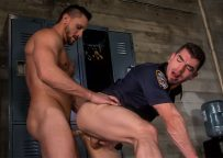 "Dakota Rivers rims and fucks Jeremy Spreadums in ""Bad Cop 2"" part one"