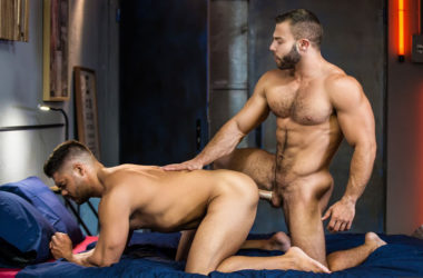 "Bearded stud Diego Reyes fucks Nicolas Brooks in ""The Boy is Mine"" part two"