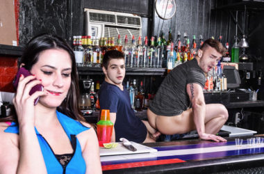 "Johnny Rapid fucks bartender Jake Ashford in ""First Date Fuck"" from Men.com"