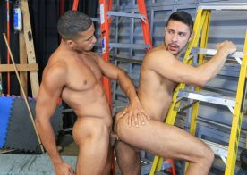 """Mike Maverick fucks his lazy co-worker Seth Santoro in """"Get To Work!"""" from Pride Studios"""