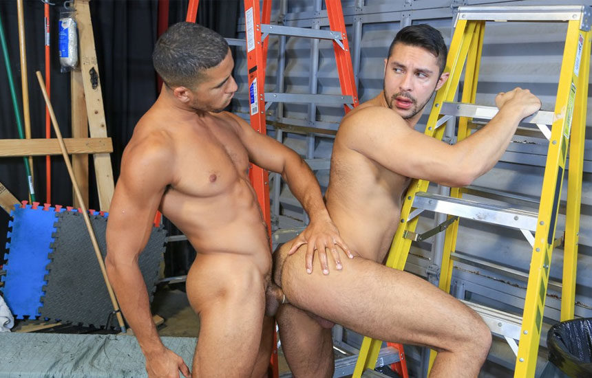 "Mike Maverick fucks his lazy co-worker Seth Santoro in ""Get To Work!"" from Pride Studios"