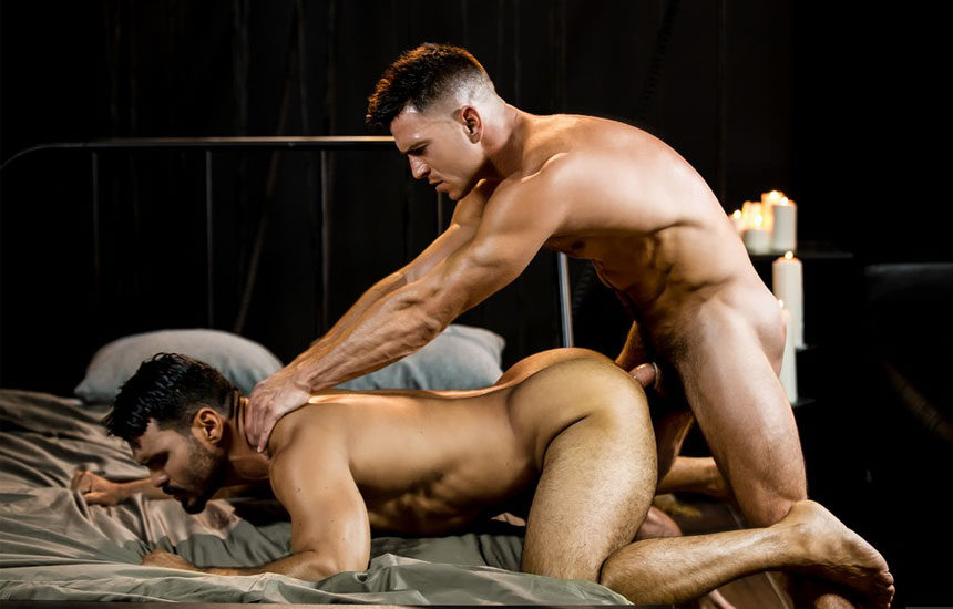 "Paddy O'Brian drills Jean Franko's ass in ""Fucked Up Fuckers"" part 2 from Men.com"
