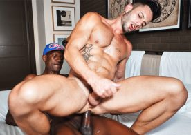 Hung muscle top Patrick Grau destroys Andy Star's hole at TimTales
