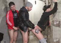 Aymeric Deville and Jeremy fuck with Polish stud Oscar Wood at Eric Raw