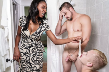 "Darin Silvers helps Leo Luckett out in ""Side Piece"" part one from Men.com"