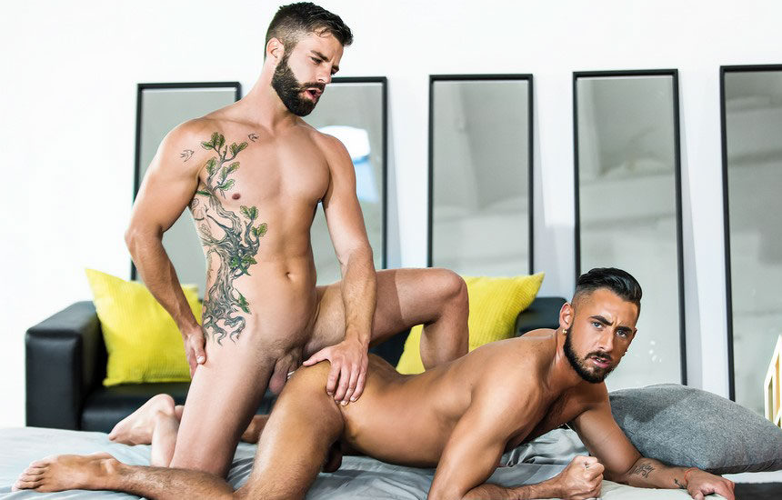 "Hector De Silva fucks Massimo Piano in ""The Genie"" part two from Men.com"