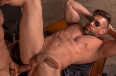 "Jason Vario fucks Bruce Beckham in ""Bad Cop 2"" part three from Titan Men"