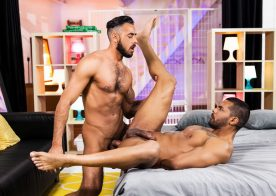 """Lucas Fox and Massimo Piano fuck each other in """"The Genie"""" part one from Men.com"""