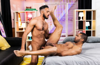 "Lucas Fox and Massimo Piano fuck each other in ""The Genie"" part one from Men.com"