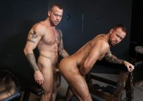 "Michael Roman and Sean Duran flip-fuck in ""Sean's Versatile Playroom"" from Pride Studios"