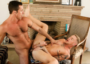 "Danny Gunn takes Nick Capra's big cock in ""Skateboarder"" from Pride Studios"