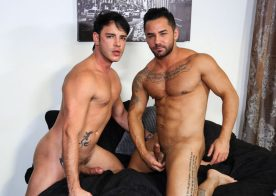 "Rego Bello fucks Bruno Bernal's mouth and ass in ""Frustrated Lovers"" from Pride Studios"