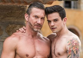 """Tomas Brand stretches Dakota Payne's hole in """"Fill More Guys"""" from Lucas Entertainment"""