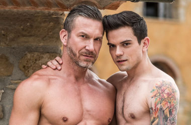 "Tomas Brand stretches Dakota Payne's hole in ""Fill More Guys"" from Lucas Entertainment"