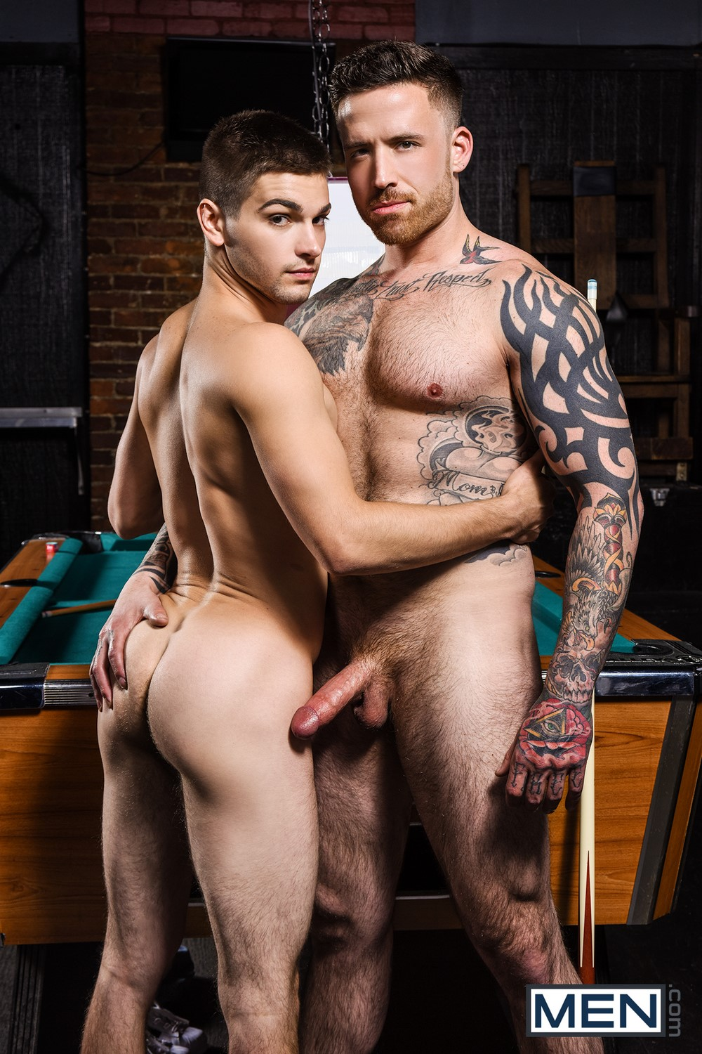 Pool dick johnny rapid and jordan levine ass love