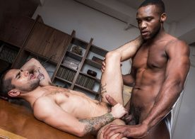 New Lucas Entertainment exclusive Andre Donovan fucks Ty Mitchell