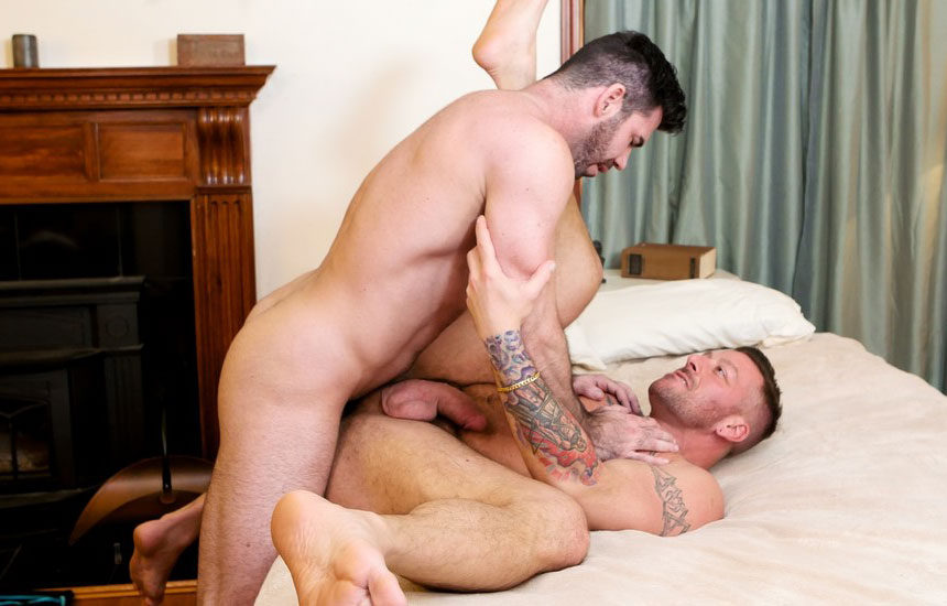 "Billy Santoro fucks Hugh Hunter in ""Fuck and Forget 'em"" from Icon Male"