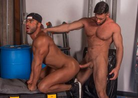 "Bruce Beckham and Micah Brandt fuck in ""LA Cruising"" part 3 from Titan Men"