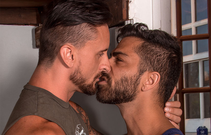 "Adam Ramzi gets fucked by Dakota Rivers in ""LA Cruising"" part 4 from Titan Men"