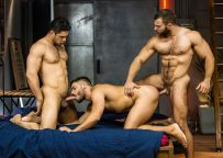 """Dato Foland, Diego Reyes and Nicolas Brooks fuck in """"The Boy is Mine"""" part 3"""