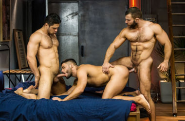 "Dato Foland, Diego Reyes and Nicolas Brooks fuck in ""The Boy is Mine"" part 3"
