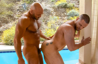 "Jesse Jackman fucks Julian Knowles in ""Big Brother"" part three from Titan Men"