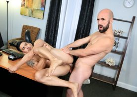 "Hunter Vance gets fucked by Lex Ryan in ""Office Stress Relief"" from Pride Studios"