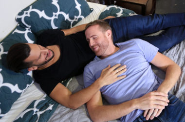 """Marco Lorenzo pounds Jack Gunther's ass in """"I Miss You Baby"""" from Pride Studios"""