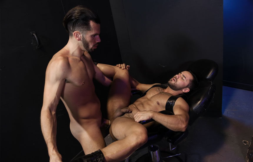 """Bruno Bernal gets fucked by Marco Lorenzo in """"Raunchy and Deep"""" from Pride Studios"""