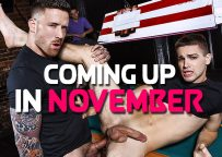 Here is what's coming up at gay porn mega site Men.com this November