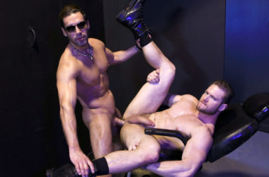 "Alexander Garrett fucks Ace Era and feeds him his load in ""Sex Club Fucking"""