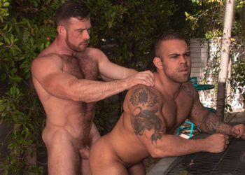 "Liam Knox plows Lorenzo Flexx's hole in ""Big Brother"" part four from Titan Men"