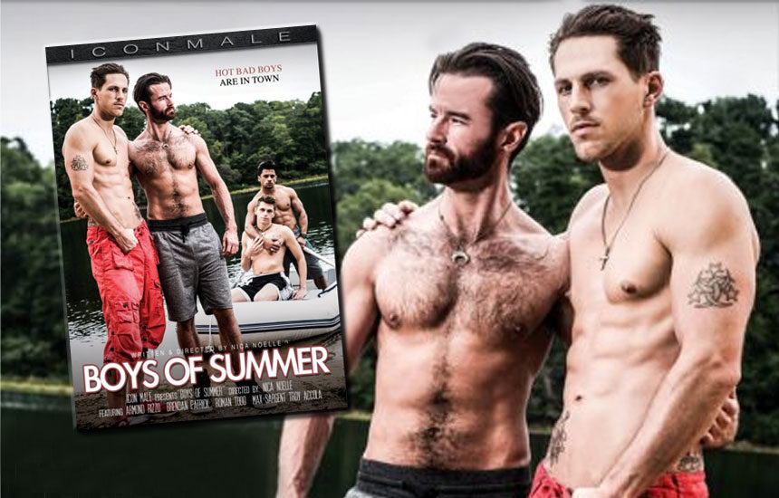 "Icon Male releases first scene from their new ""Boys of Summer"" movie"