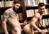 """Brad Powers fucks Johnny Rapid's sweet ass in """"May I Join You?"""" from Men.com"""