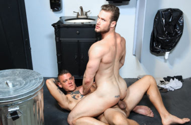 """Jace Chambers fucks Ace Era and feeds him his cum load in """"Glory Fuck"""""""