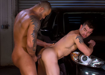 "Jason Vario pounds Jeremy Spreadums in ""West Texas Park & Ride"" part three"