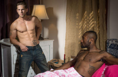 "Noah Donovan pounds Roman Todd in ""Claiming His Sister's Lover"" from Icon Male"