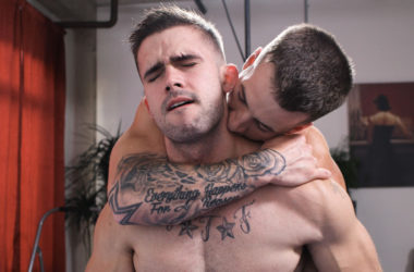 Mathias gets fucked for the first time and Quentin Gainz is the one to break him in