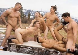 "Dillan, Jack, Asher, Deacon, Malcolm and Lane fuck in ""Wyoming Getaway"" part 4"