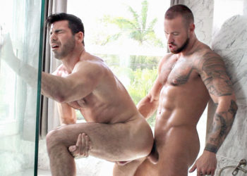 "Billy Santoro and Michael Roman take turns fucking each other in ""Full Tilt Fuck"""