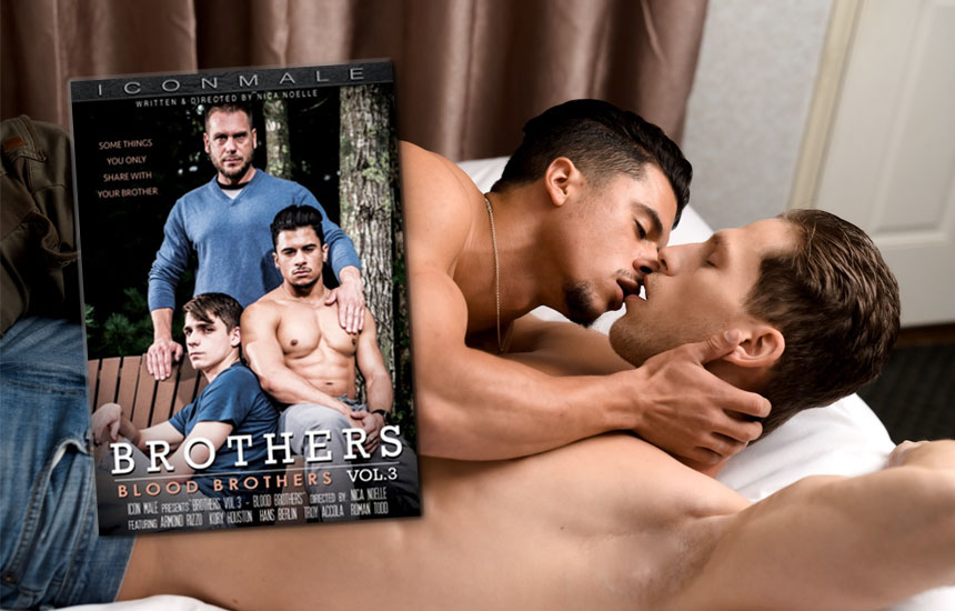 """A first look at Icon Male's """"Brothers 3"""" starring Hans Berlin, Kory Houston, Armond Rizzo, Roman Todd & Troy Accola"""