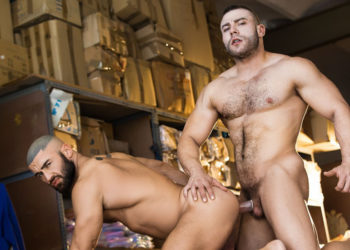 "Muscle studs Diego Reyes and Francois Sagat fuck in ""Heart's Desire"" from Men.com"