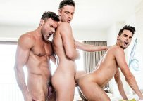 "Damon Heart, Manuel Skye & Aaden Stark in ""Fit As Fuck"" part 3 from Lucas Entertainment"