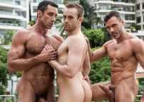 """Nick Capra, Manuel Skye and Jackson Radiz suck and fuck in """"Fit As Fuck"""" part two"""