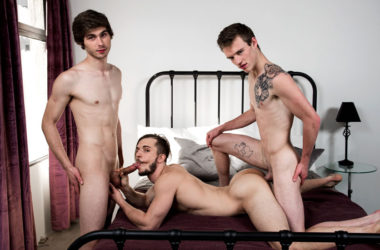 "Chad Piper, Scott Finn & Donte Thick in ""We Fucked Your Brother"" from Next Door Studios"