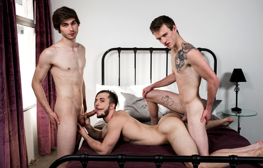 """Chad Piper, Scott Finn & Donte Thick in """"We Fucked Your Brother"""" from Next Door Studios"""