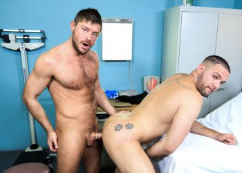 """Julian Knowles and Jack Andy fuck each other in """"Muscle Tension"""""""