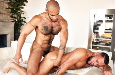 Hung studs Louis Ricaute and Jake Cook fuck each other at TimTales